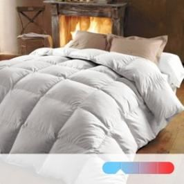 Review Couette 50% duvet 370gr traitée Proneem + Teflon