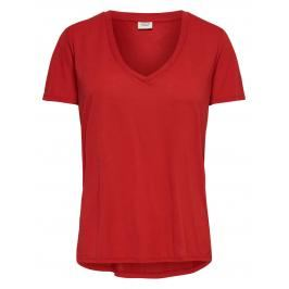 Review ONLY Effen T-shirt Dames Rood