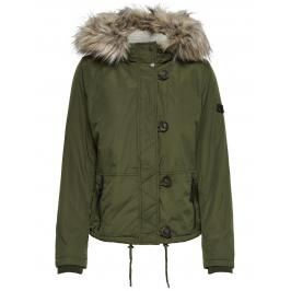 Review ONLY Faux Fur Jack Dames Green